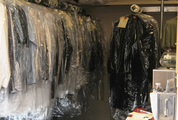 dry cleaning racks